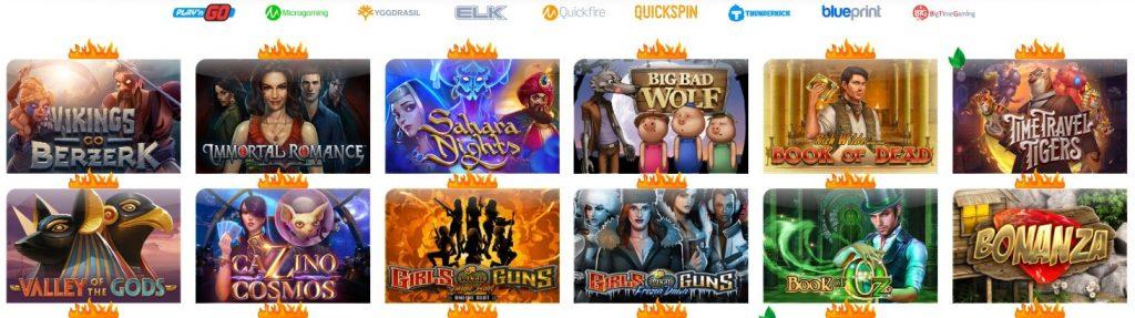Игры в Ego Casino